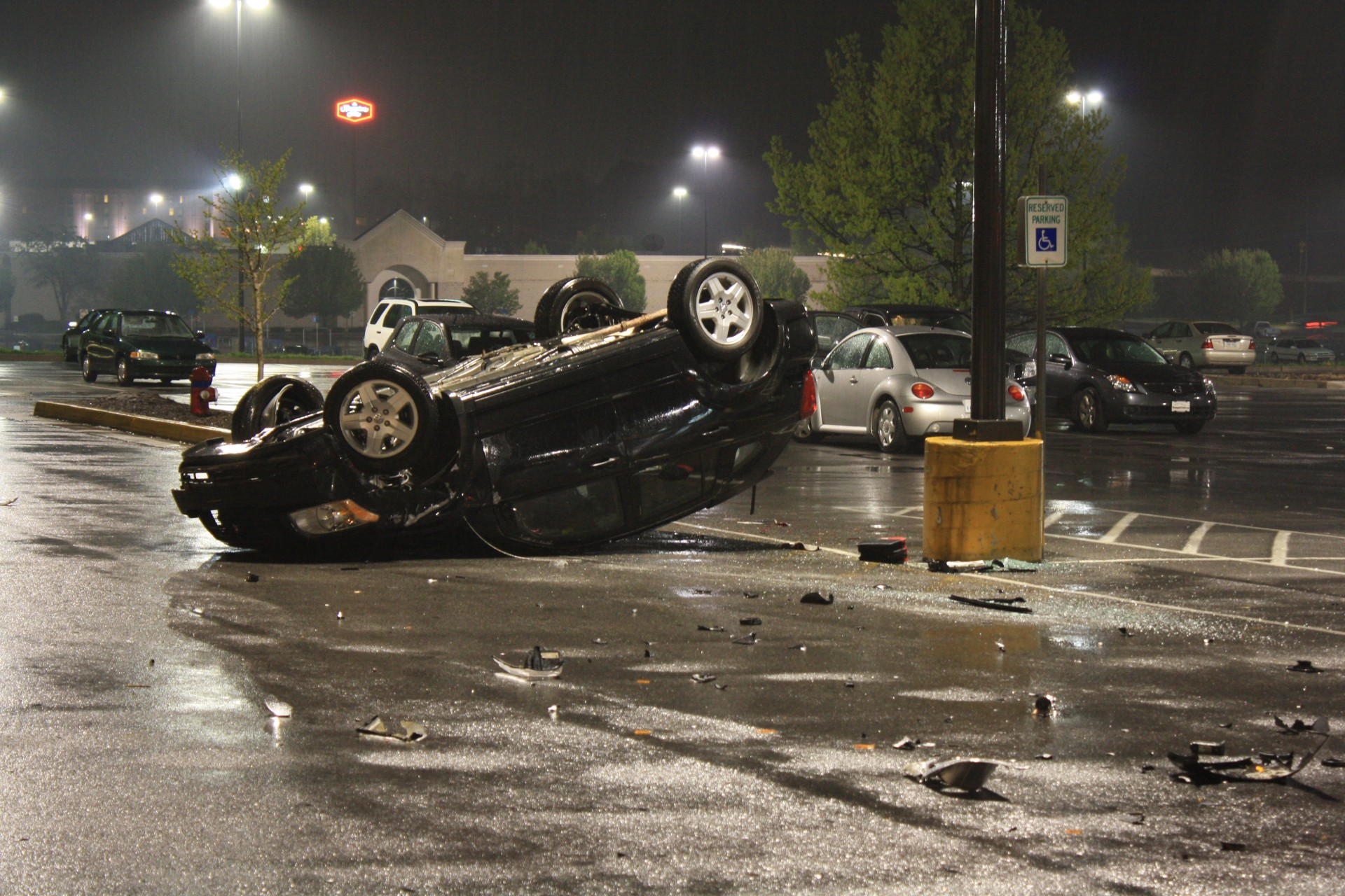 Car Rollover Accident