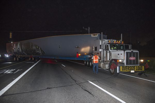 Ran Out of Lane Truck Accident